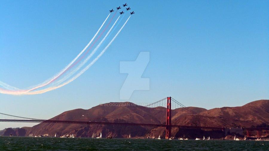 San Francisco Fleet Week 2012 by bloodyban