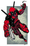 Deadpool commission colors