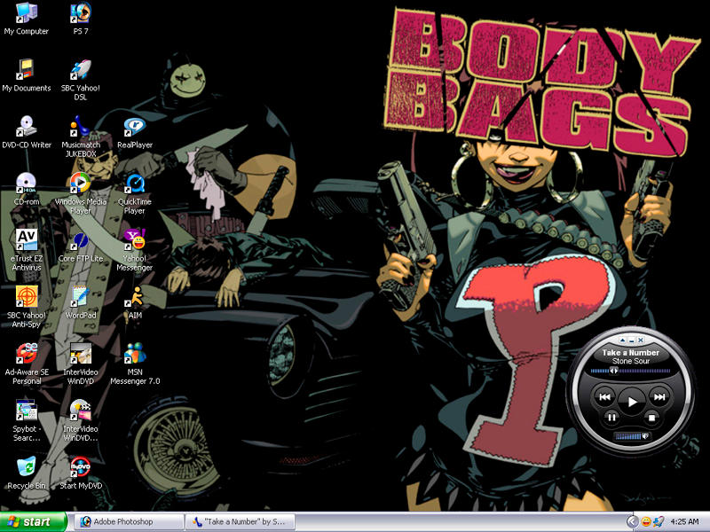 Body Bags Wallpaper