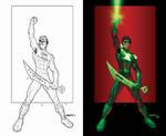 RAHeight's Green Lantern