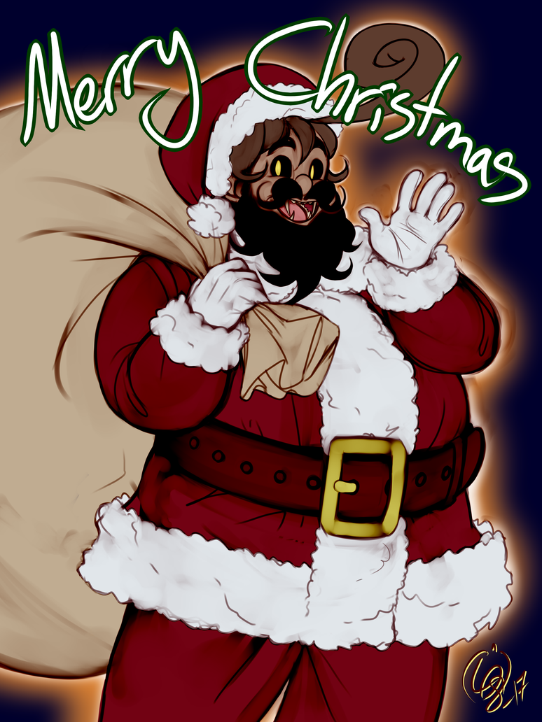 Merry Christmas from Santapots by lemon-drop-soda