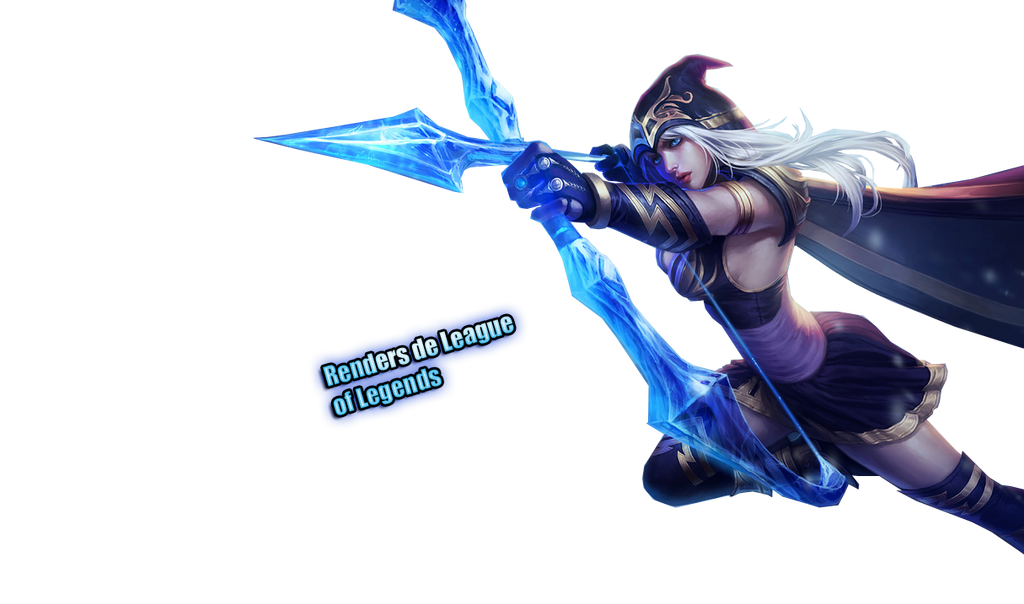 Ashe (League of Legends) Render by RendersDeLoL on DeviantArt