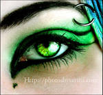 Toxic Eye Makeup more editing