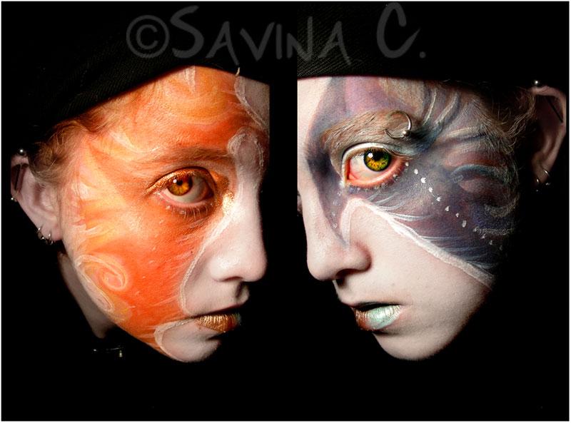 :Sun:+:Moon: by savinaswings