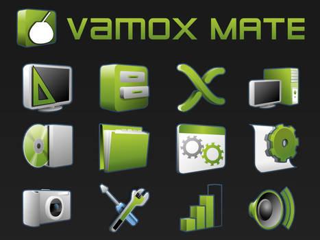 Vamox icons by DaFeBa
