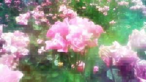 pixelated flowers by DaFeBa