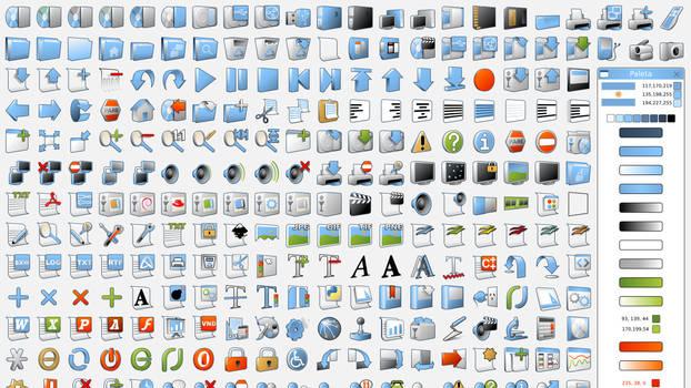 Vamox project icons