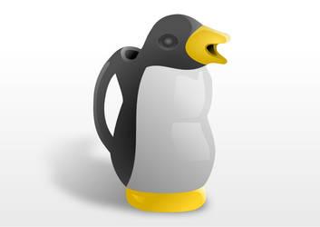 Pinguino de vino