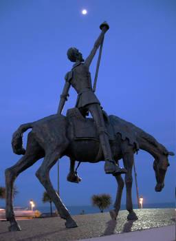 Quijote monument Mar del Plata