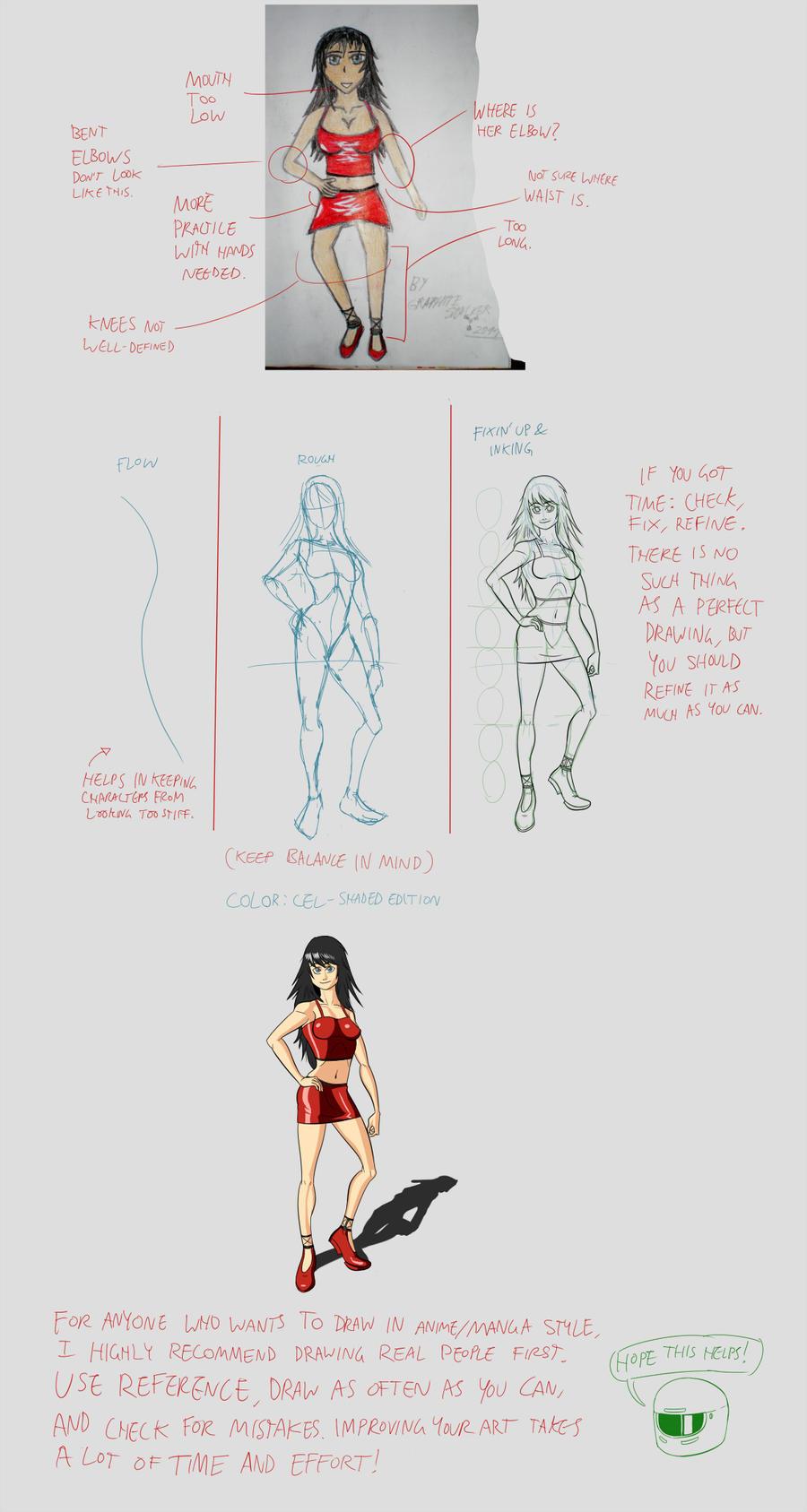 Some manga girl .advice. by mayuzane