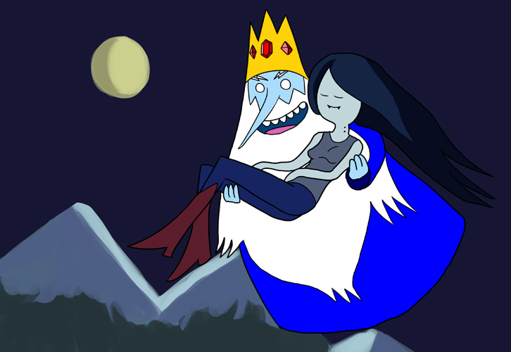 Adventure Time Wallpaper Marceline And Ice King