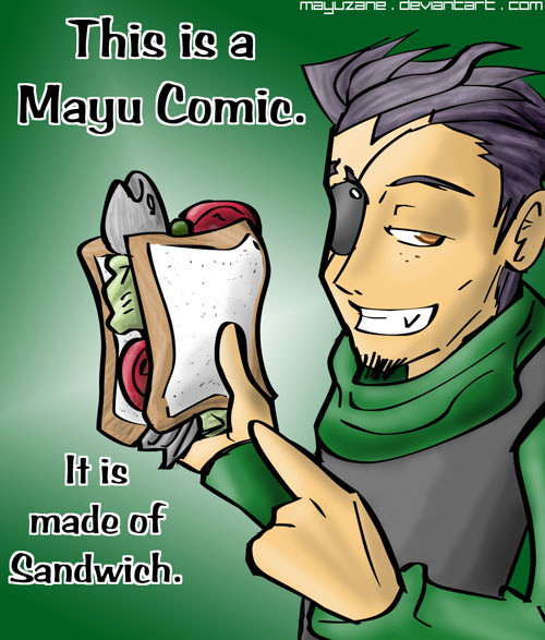 The essence of a Mayu comic by mayuzane