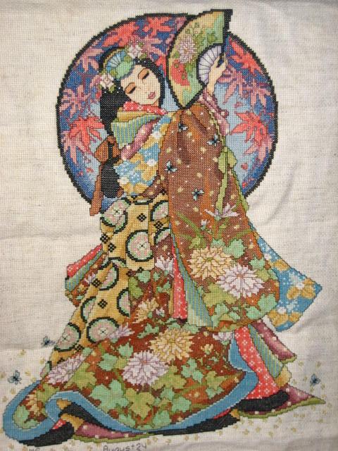 Woman of Wisdom Cross Stitch by harryfan99