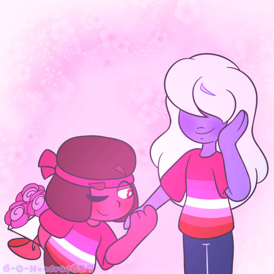 So, another Pride Month drawing was the result of the poll I posted in my status update. Of course, I HAD to post Ruby and Sapphire! Why wouldn't I? Even though I haven't watched Steven Universe in...