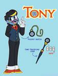 Tony the Talking Clock (Gijinka)
