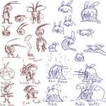 Team Goomizomi Sketches