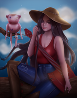 Marceline and Hambo by sstarlingsnow