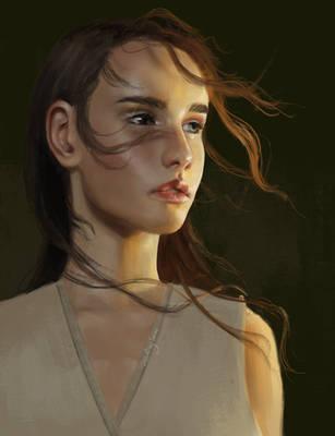 Portrait study #2 by sstarlingsnow