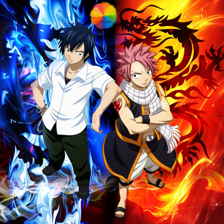 Warriors Fire And Ice Download: Natsu Dragneel And Gray Fullbuster By Bcassalino On DeviantArt