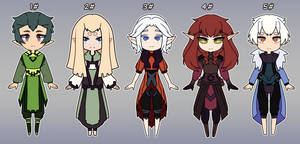 CLOSED Elven Druid adoptables batch