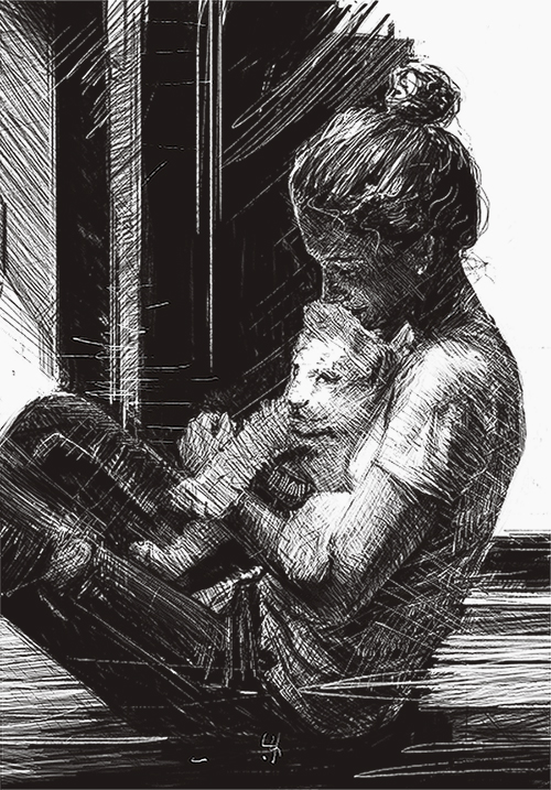 Girlcub Study by JohnathanSung