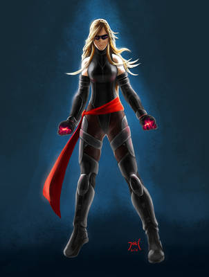 Ms. Marvel Movie Concept by ElJore