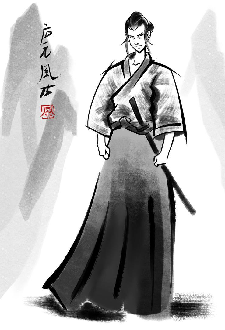 Commission: Kazuhiro by ElJore