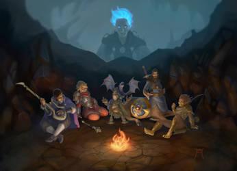 A tale in the Underdark by ElJore