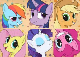 My Little Pony by Corina93