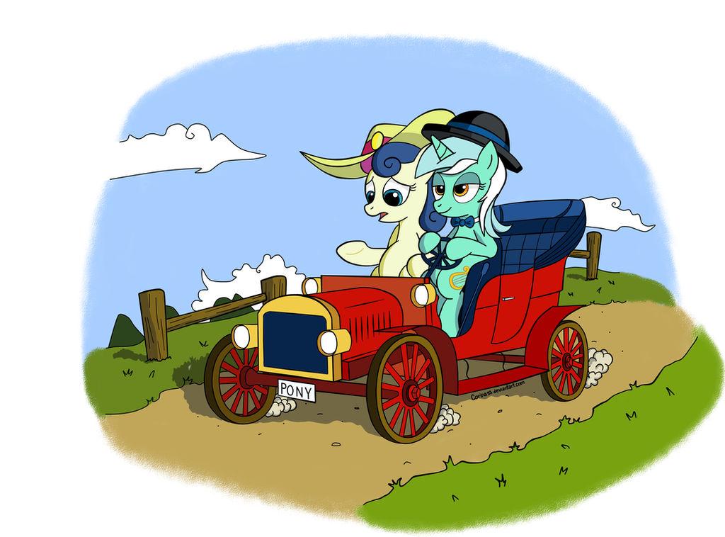 Lyra's fancy wheels