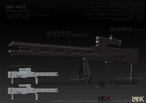 SHF-MK01 - Long Range Weapon Design 01