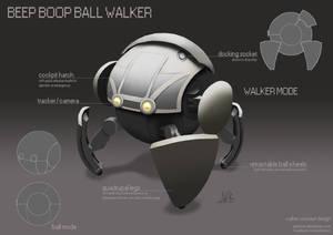 Beep Boop Ball Walker