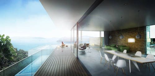 Architectural Visualization practice - Nookta
