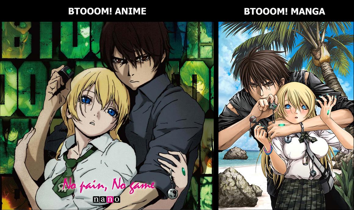 BTOOOM! Anime VS BTOOOM! Manga by joaocouto on DeviantArt