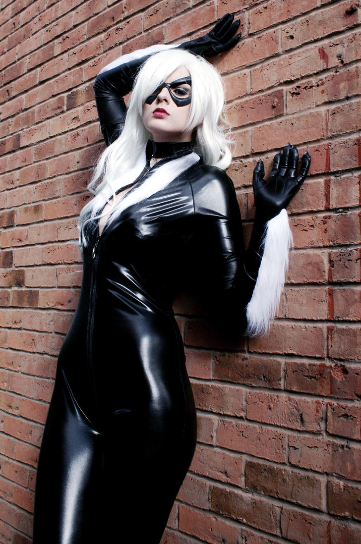 Black Cat Spiderman Halloween Costume