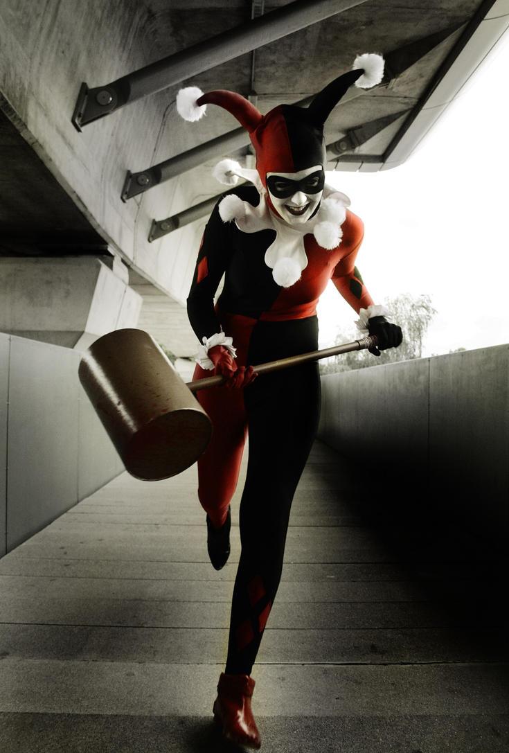 Harley Quinn DA ID by Inuyomi