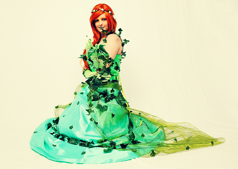 Poison Ivy WILL go to the ball by Inuyomi
