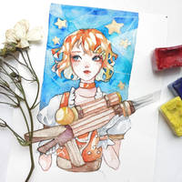 Rin Kagamine Vocaloid by Azuri-chan79