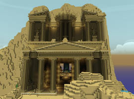 The Ruins of Petra by JumanjiCraft