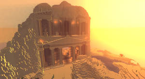 The Ruins of Petra 2 by JumanjiCraft