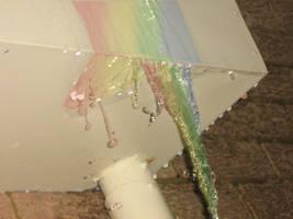 Rainbow Waterfall - whitelder by dapride