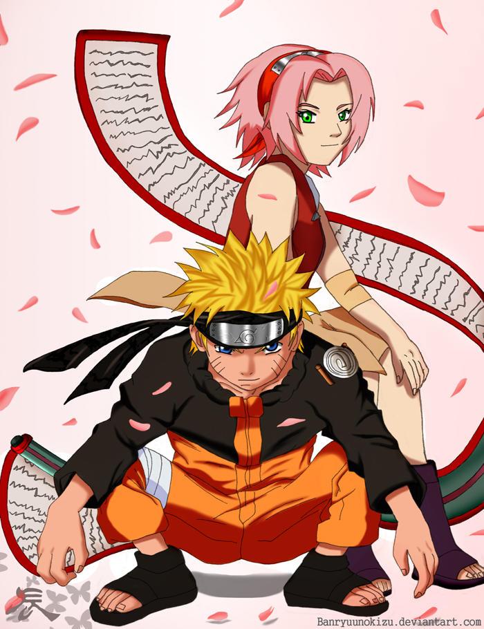 Couple __Naruto_and_Sakura___3_years__by_Banryuunokizu