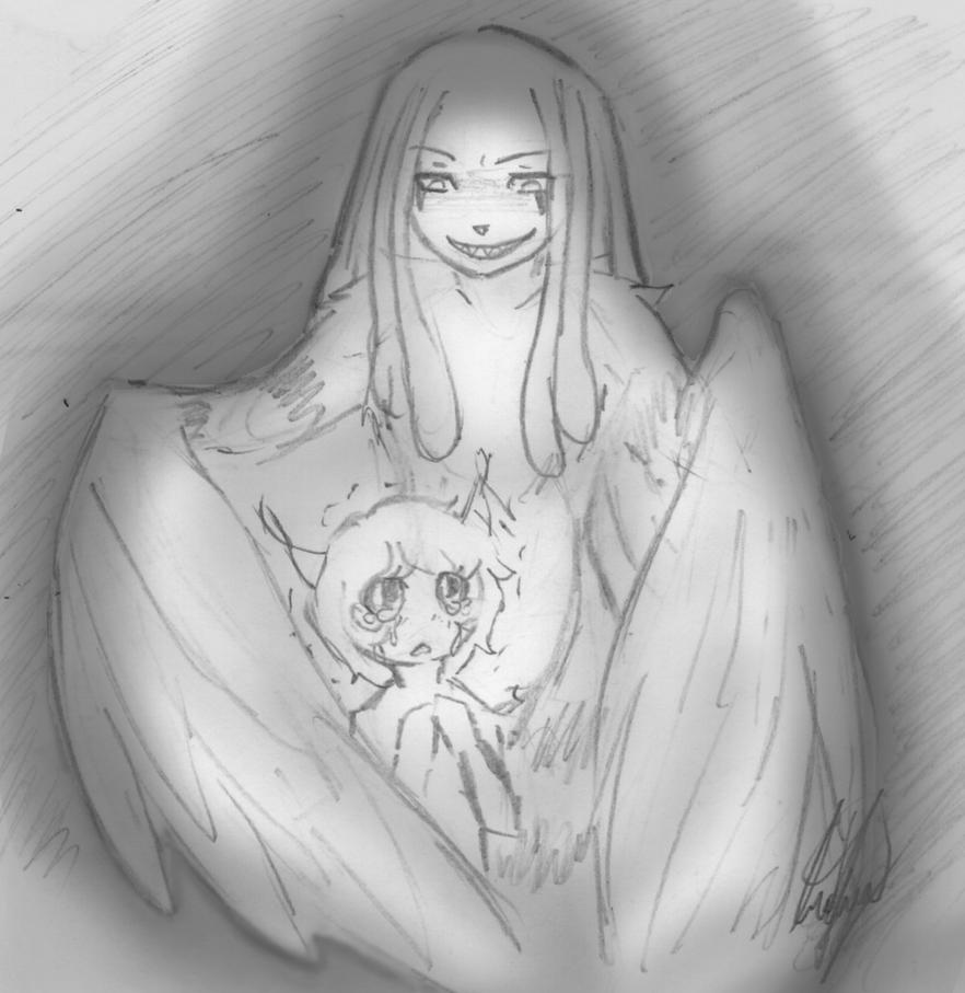 Icarus -innocence by AstoriaManson