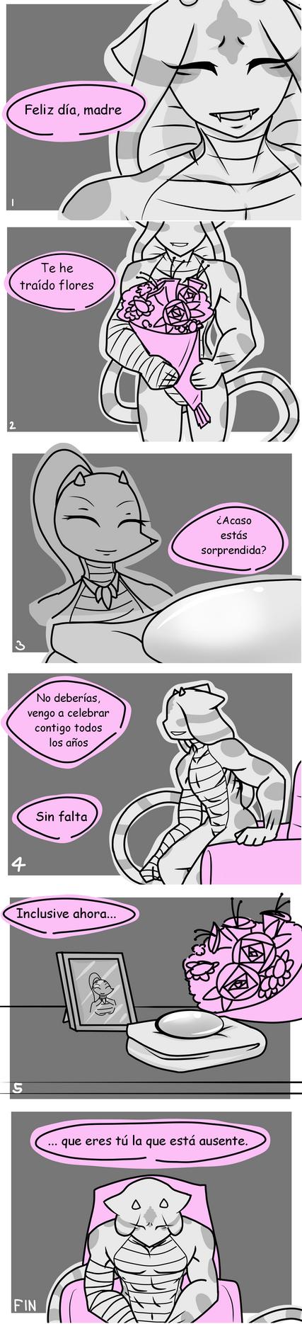Dia de la madre -comic by AstoriaManson