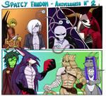 Spaicy fandom -segundo aniversario
