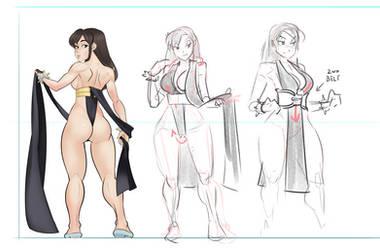 Chun-li: How to Dress For Battle by psudolewd