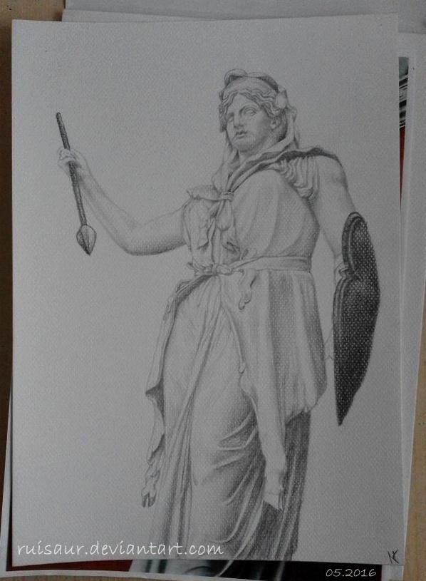 The Statue of Juno Sospita, Musei Vaticani by ruisaur