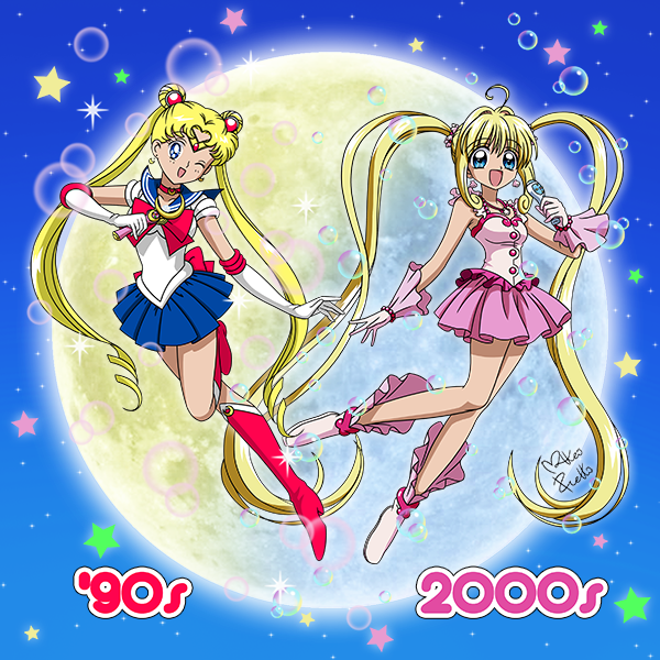 Sailor Moon vs Mermaid Melody by matteopretto on DeviantArt