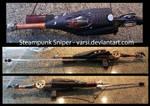 Steampunk Sniper Rifle
