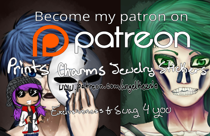 Become My PATREON by angelkeznie